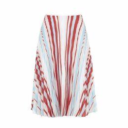 Samsøe & Samsøe Juliette Striped Pleated Skirt