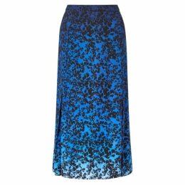 Jigsaw Sunset Floral Midi Skirt