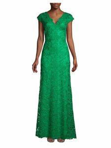 Lace A-Line Gown