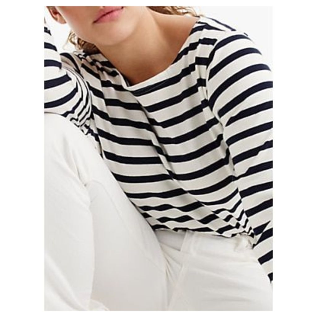 J.Crew Structured Stripe T-Shirt