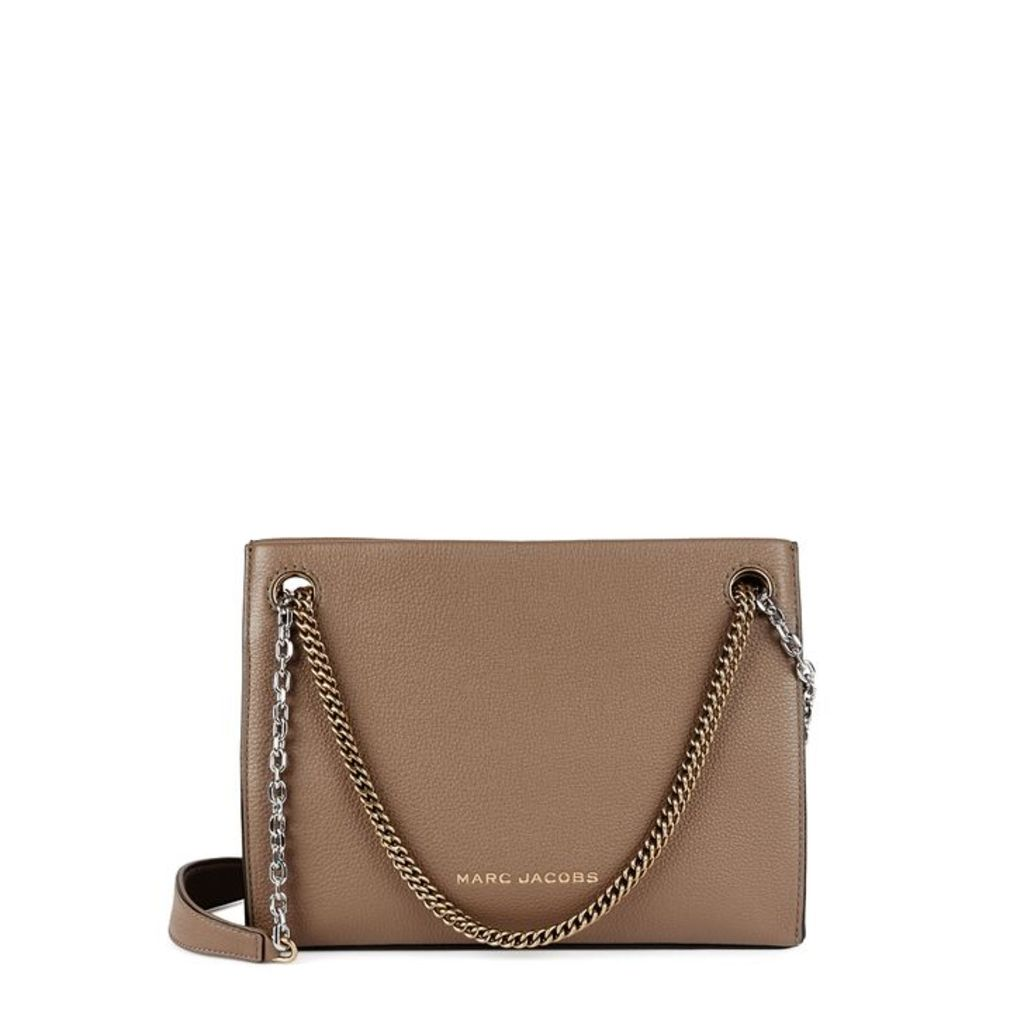Marc Jacobs Double Link 27 Leather Shoulder Bag