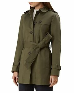 Hobbs London Ella Short Trench Coat