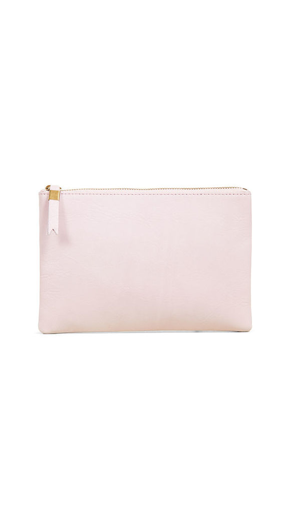 Madewell Leather Pouch Clutch