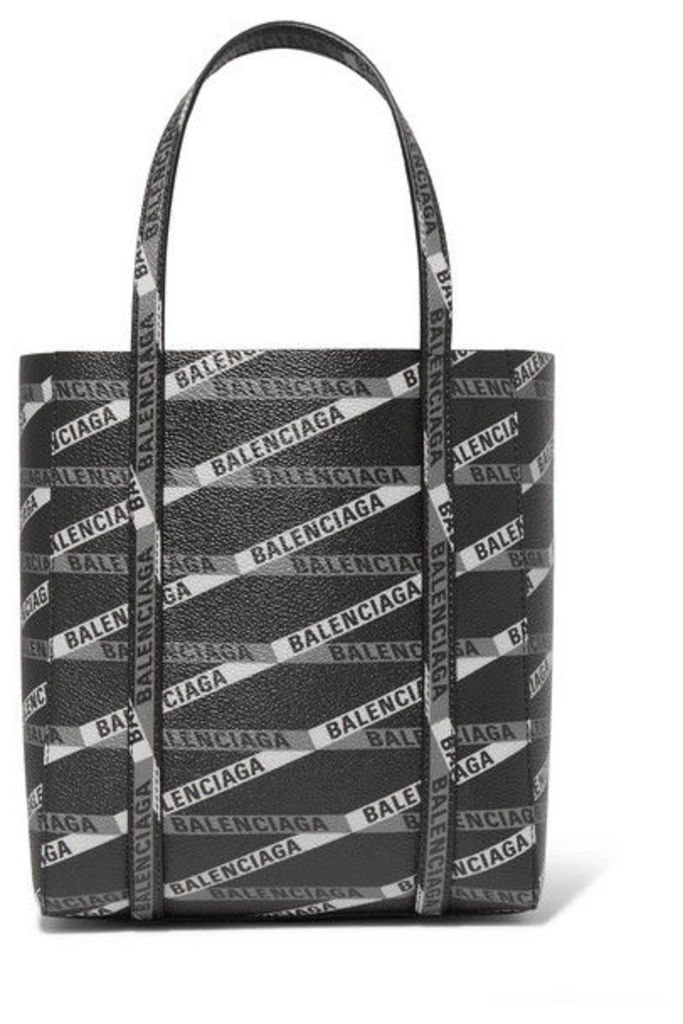 Balenciaga - Everyday Mini Printed Coated-canvas Tote - Black