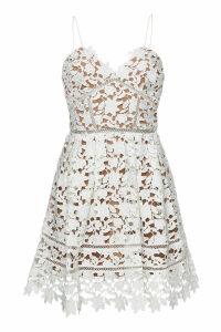 Self-Portrait Azaelea Mini Dress with Lace
