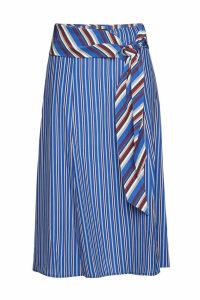 Rag & Bone Felix Striped Silk Midi Skirt