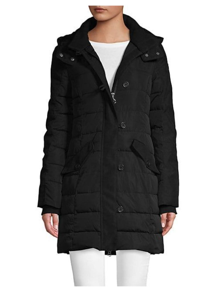 Longline Quilted Parka