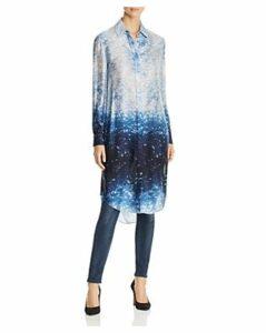 Elie Tahari Sophia Printed Silk Tunic