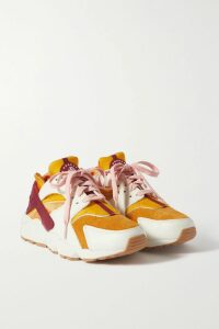 LemLem - + Net Sustain Doro Ruffled Striped Cotton-blend Gauze Mini Dress - Blush