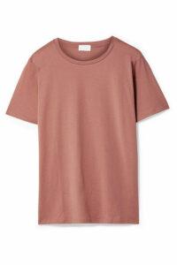 Handvaerk - Pima Cotton Jersey T-shirt - Antique rose