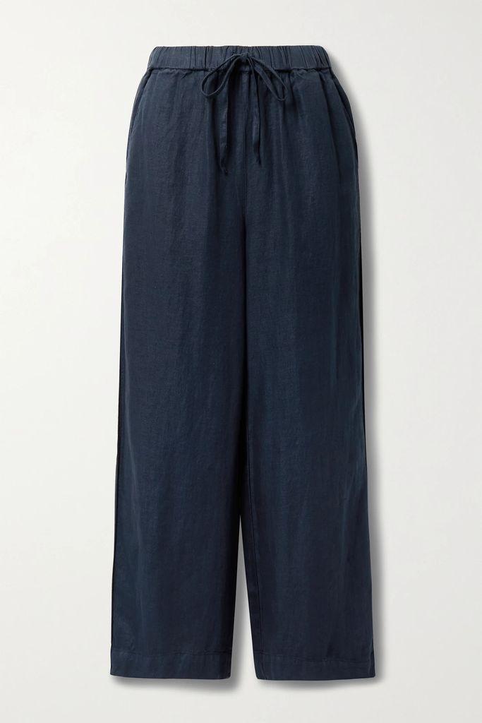 Preen by Thornton Bregazzi - Paneled Intarsia Cotton And Point D'esprit Tulle Sweater - Black