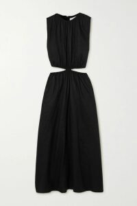 Gucci - Pleated Floral-print Silk-jacquard Skirt - Ivory