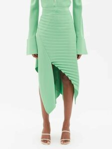 Denis Colomb - Tie Waist Linen Dress - Womens - Khaki
