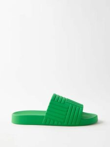 Denis Colomb - Tie Waist Linen Dress - Womens - Navy