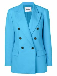 MSGM blue formal blazer