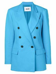 MSGM blue formal blazer