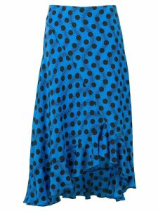 Kenzo blue polka dot skirt - Black