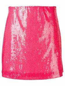 Alberta Ferretti fuchsia sequin skirt - Pink