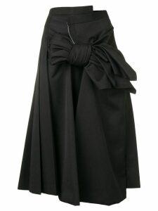 Comme Des Garçons bow waist skirt - Black