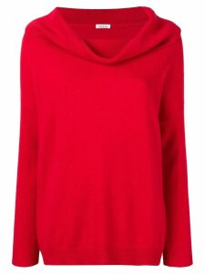 P.A.R.O.S.H. cashmere cowl neck sweater - Red