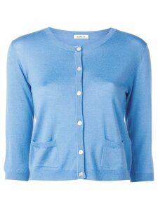 P.A.R.O.S.H. cashmere Wondering cardigan - Blue