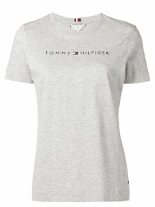 Tommy Hilfiger logo T-shirt - Grey