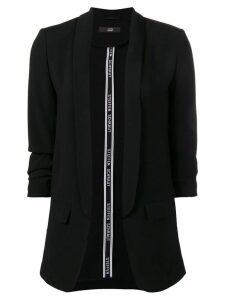 Steffen Schraut shawl lapel blazer - Black