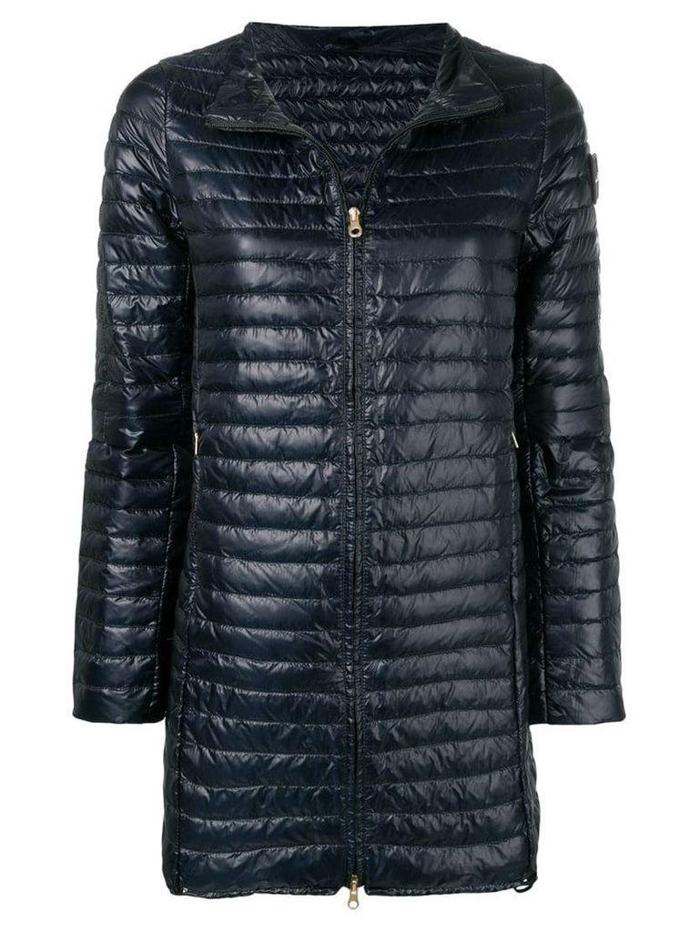 Duvetica padded mid-length coat - Blue