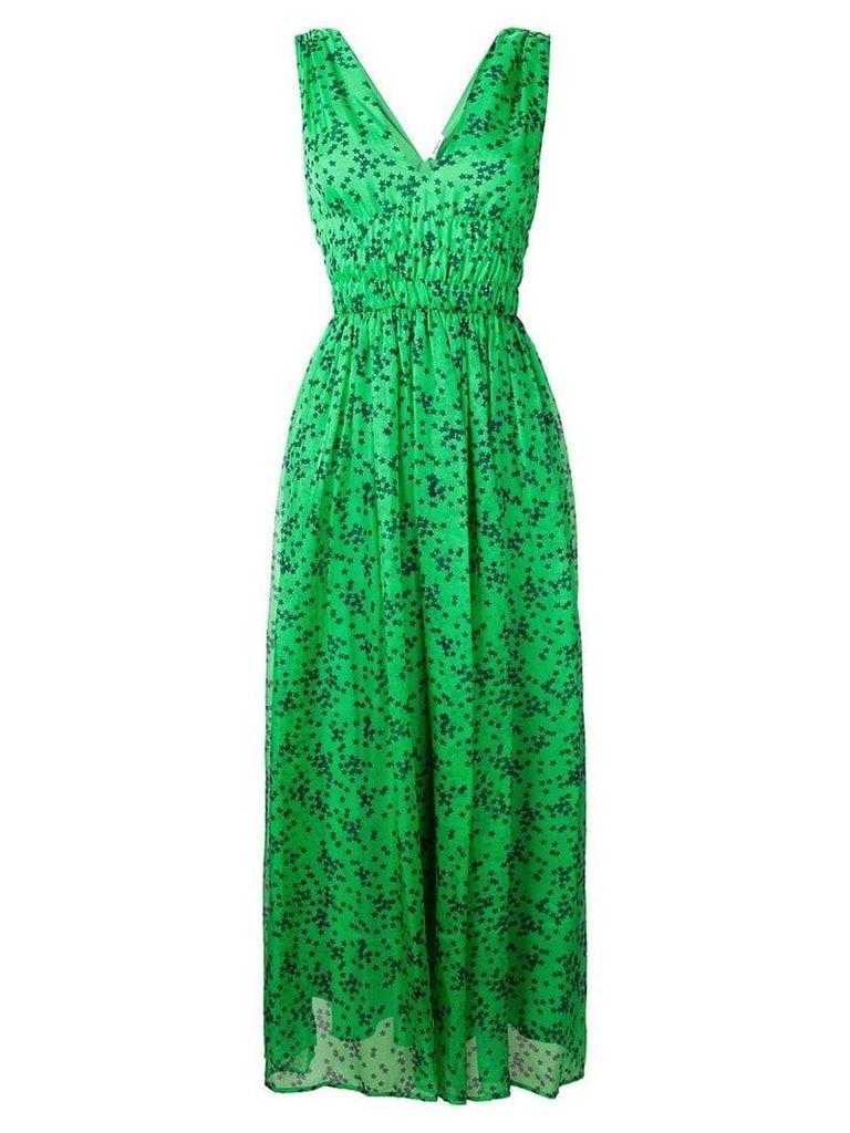 P.A.R.O.S.H. star print maxi dress - Green