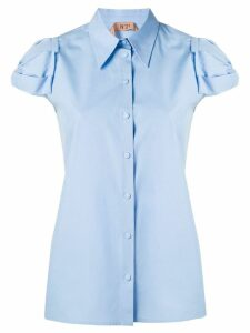 Nº21 plain short sleeve shirt - Blue