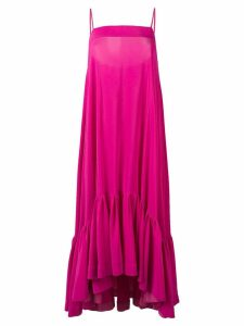 Gianluca Capannolo flared cami dress - Pink