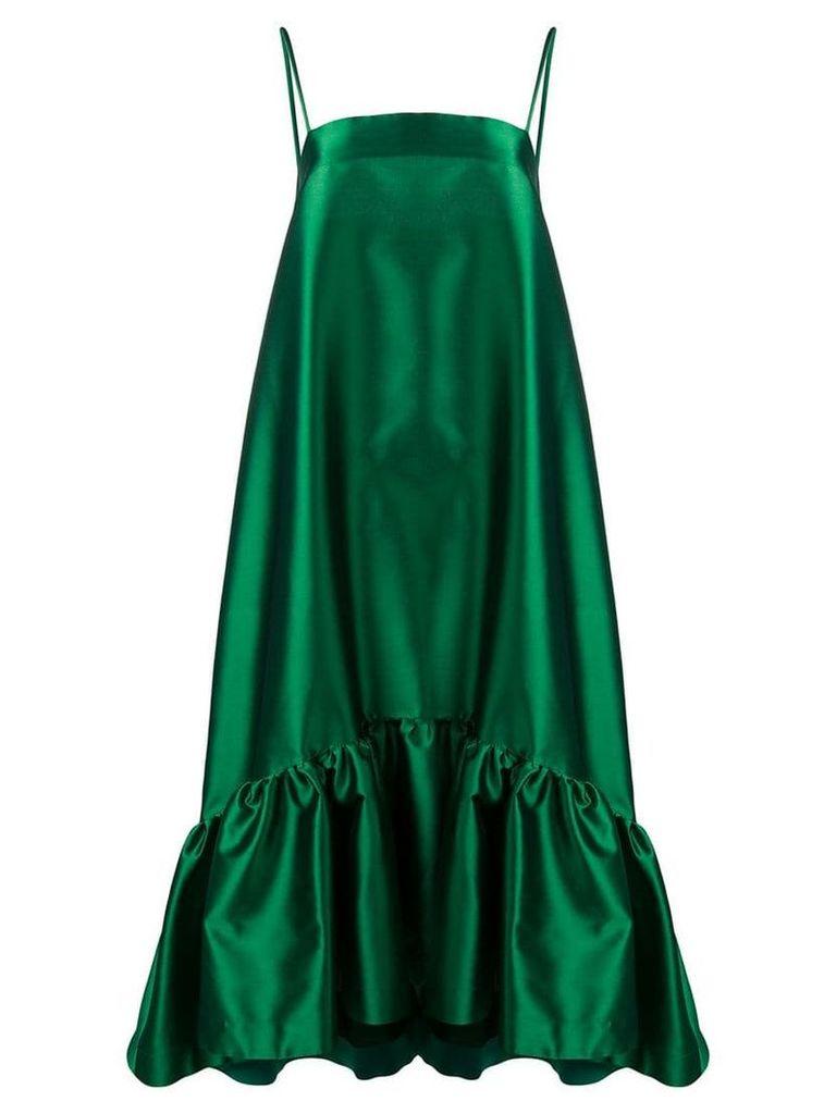 Gianluca Capannolo oversized shift dress - Green