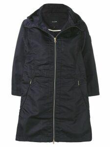 Duvetica full-zipped parka coat - Blue