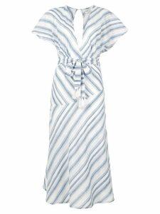Suboo Shoreline midi dress - White