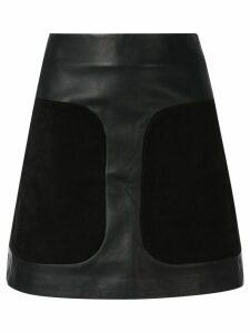 Dion Lee encased a-line mini skirt - Black