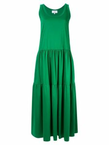 CK Calvin Klein sleeveless maxi dress - Green