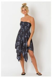 Womens Animal Honalulu Honey Woven Dress -  Blue