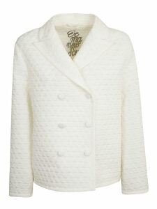 Ermanno Scervino Quilted Pea Coat