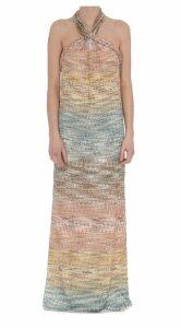 Missoni Tie Neck Dress