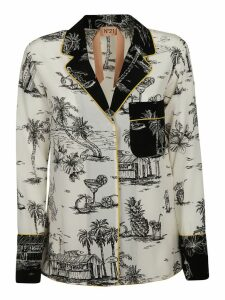 N.21 Holiday Print Shirt