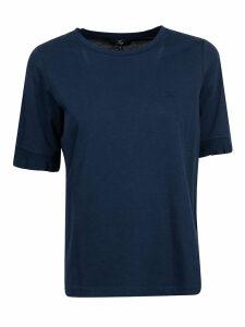 Fay Ruffled Sleeved T-shirt