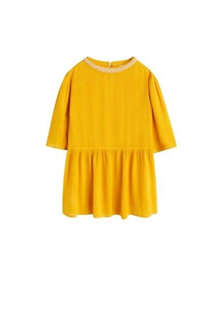 Bead detail blouse