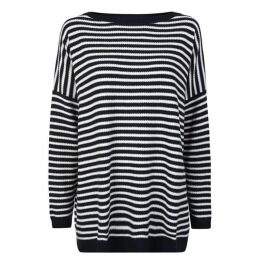 BOSS CASUAL Stripe Knitted Top
