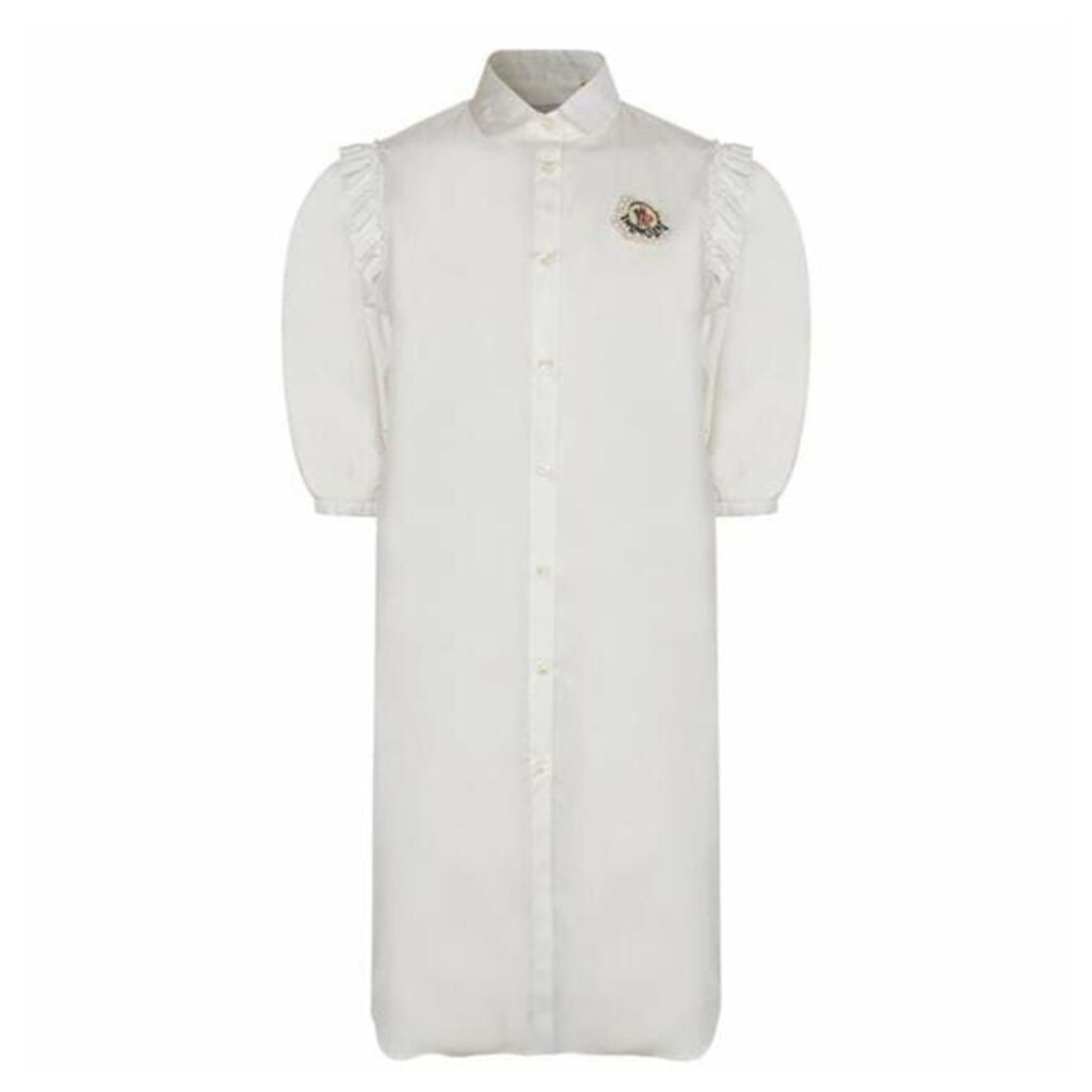 4 MONCLER SIMONE ROCHA Camicia Shirt Dress