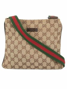 Gucci Pre-Owned Shelly Line messenger bag - Brown