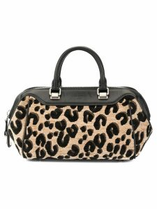 Louis Vuitton Pre-Owned leopard print handbag - Black