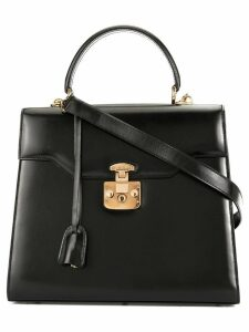 Gucci Pre-Owned Lady Lock two-way handbag - Black