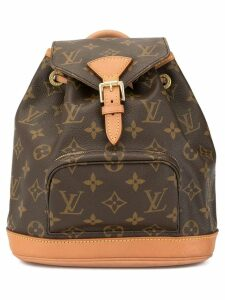 Louis Vuitton Pre-Owned mini Montsouris backpack - Brown