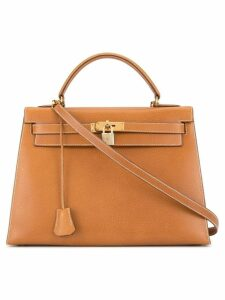 Hermès Pre-Owned Hermès Kelly 32 Sellier 2way bag - Brown