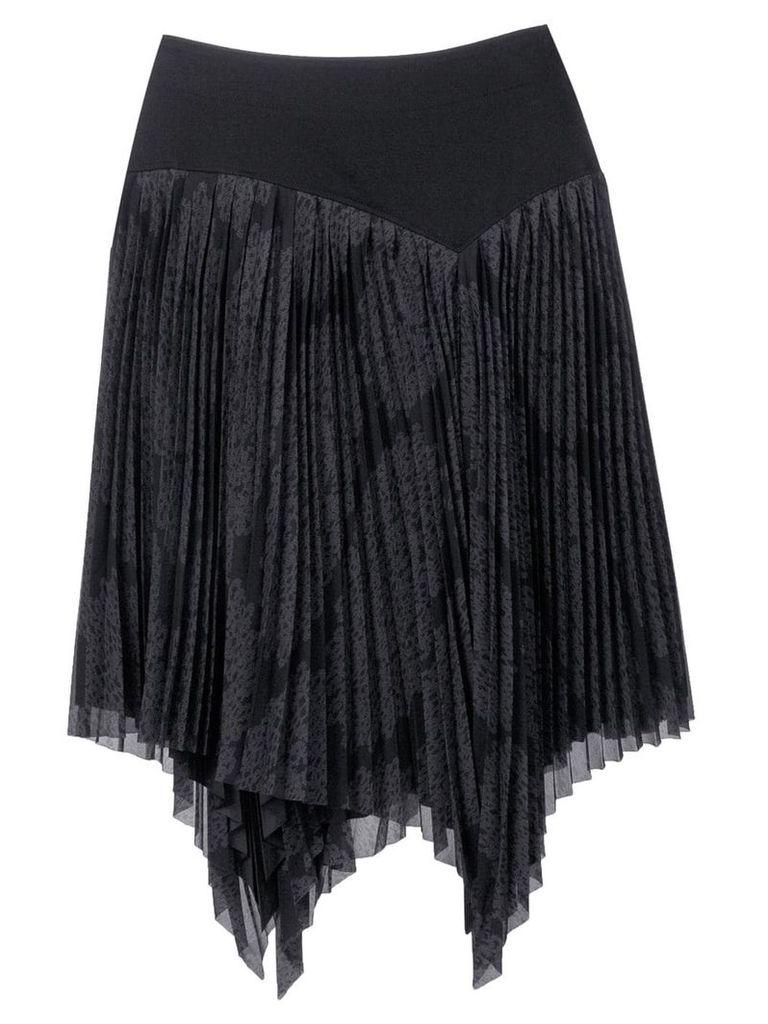 Issey Miyake Pre-Owned 1990's pleated skirt - Black